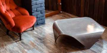 Столы и журнальные столики из артбетона