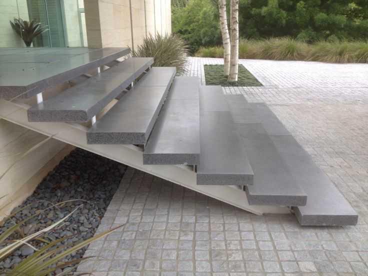 ступени из архитектурного бетона